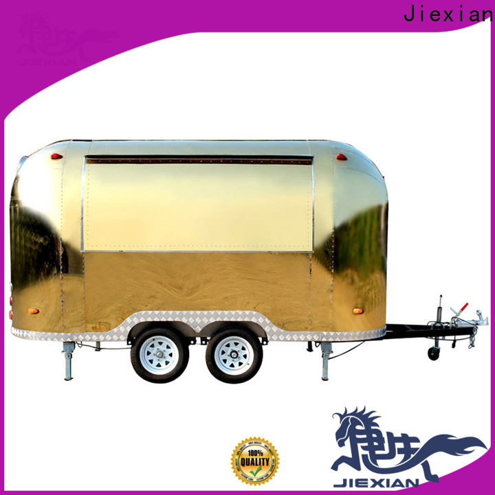 Jiexian Best small concession trailer for sale manufacturers for fast food selling