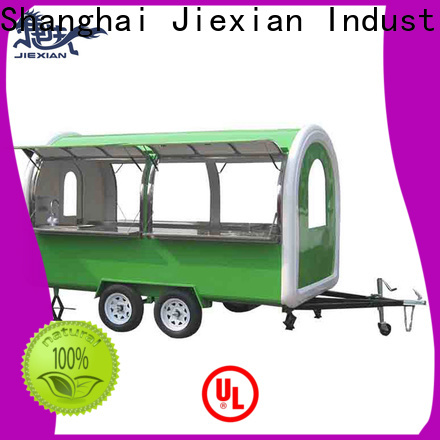 Jiexian Wholesale food stand trailers for sale bulk buy for fast food selling