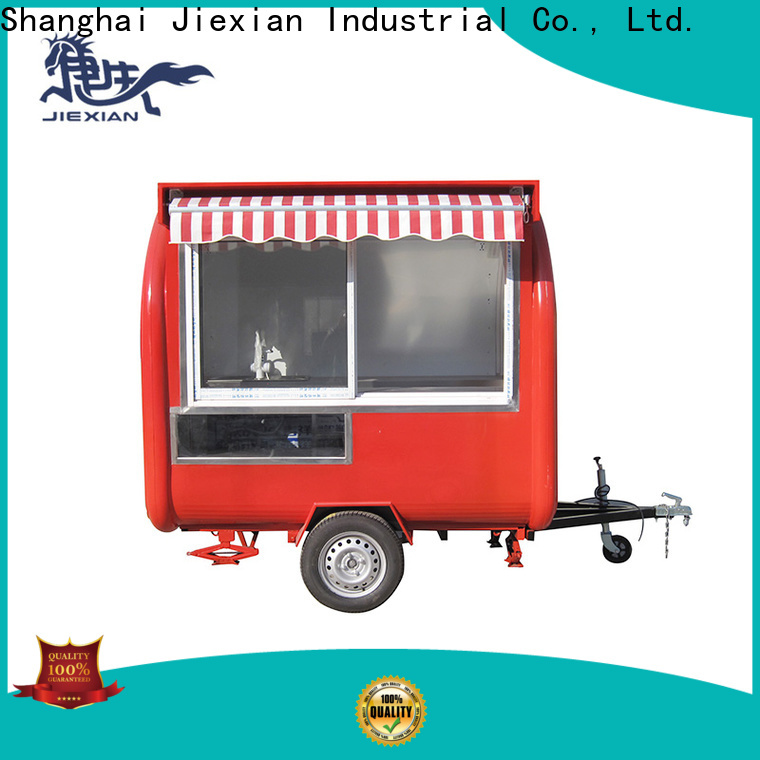 Jiexian Best fully equipped bbq concession trailers for sale company for trademan