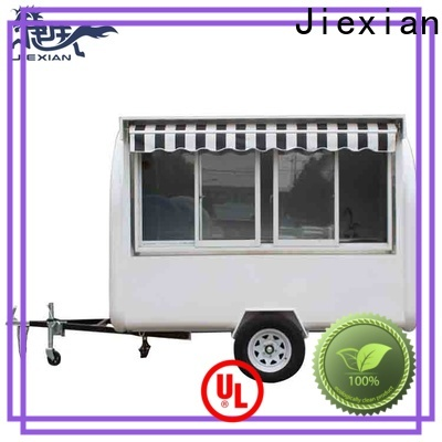 fully loaded food trailer