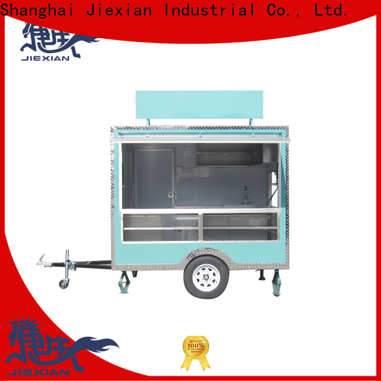 High-quality bbq enclosed trailer company for barbecue selling