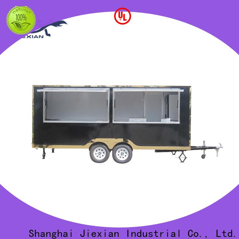 pellet smoker trailer