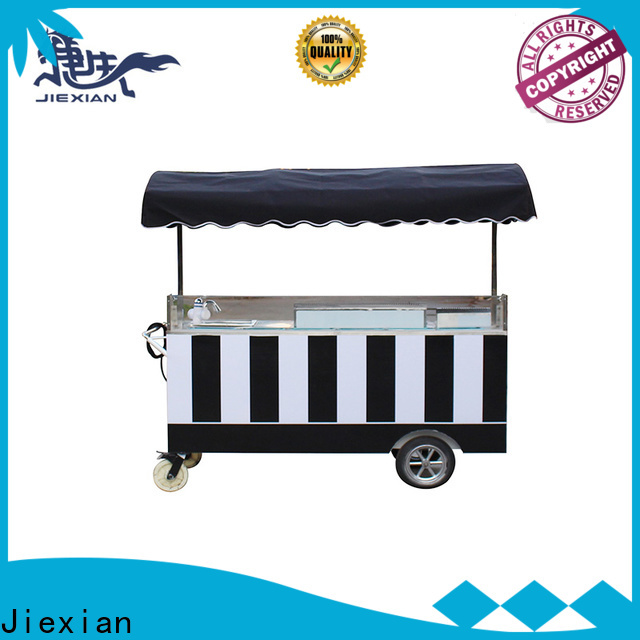 Jiexian Top leapfrog ice cream shop factory for selling fast food