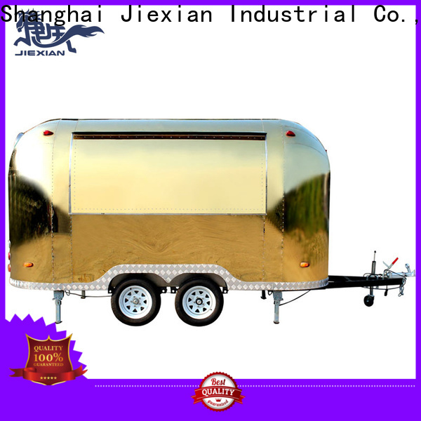 New concession trailer exhaust hood system factory for outdoor food selling