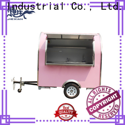 Jiexian High-quality food kitchen trailer for sale manufacturers for food selling