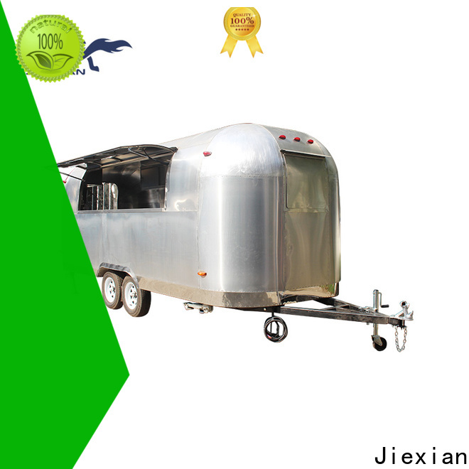 Jiexian mobile wood fired pizza oven trailer for sale manufacturers for business