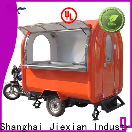High-quality custom food trucks for business for outdoor food selling