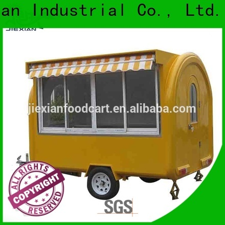 Jiexian food catering trailers for sale factory for outdoor food selling