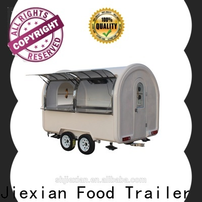 Jiexian mobile pizza oven trailer for sale manufacturers for selling snake
