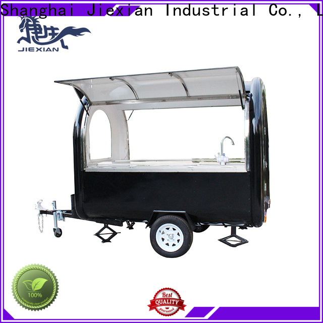 Jiexian coffee concession trailer for sale Supply for food selling
