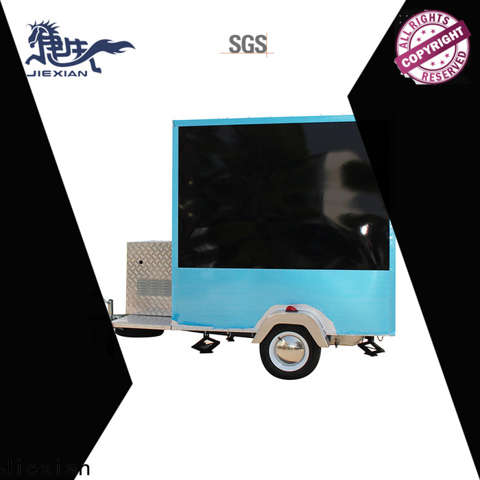 Jiexian Custom homemade smoker trailer manufacturers for mobile business