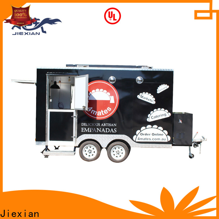 Jiexian pig roaster trailer for business for mobile business