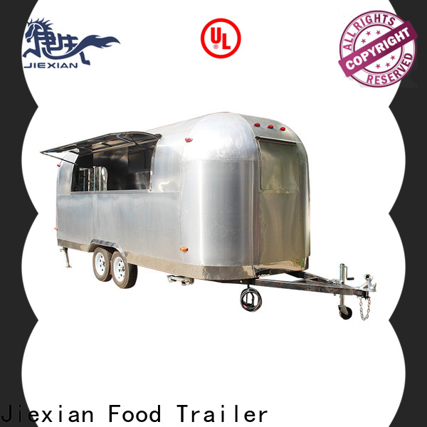 Jiexian mobile pizza oven trailer Supply for selling pizza