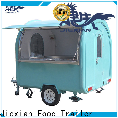 Jiexian Top commercial kitchen trailer for sale manufacturers for fast food selling