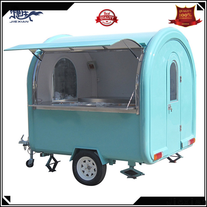 Jiexian brand new food trailers for sale factory for outdoor food selling
