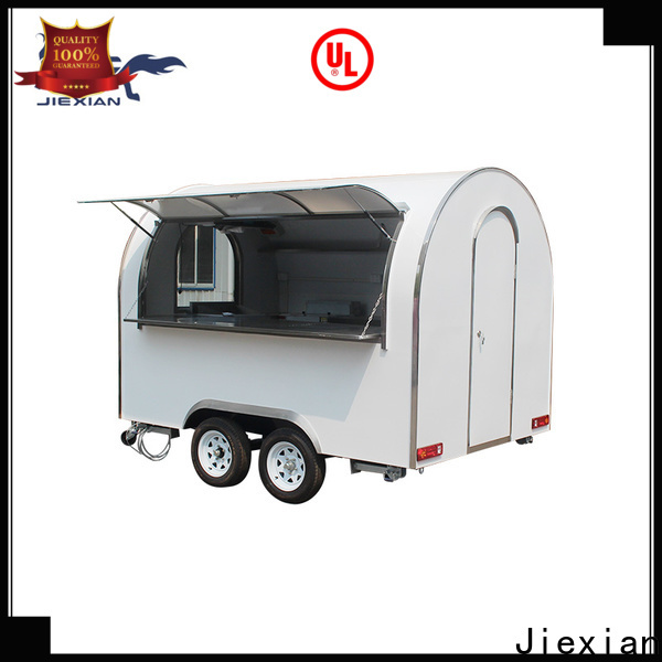enclosed bbq trailer