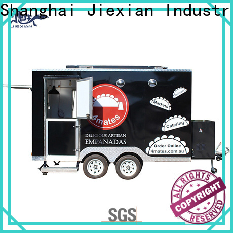 different types of food trucks