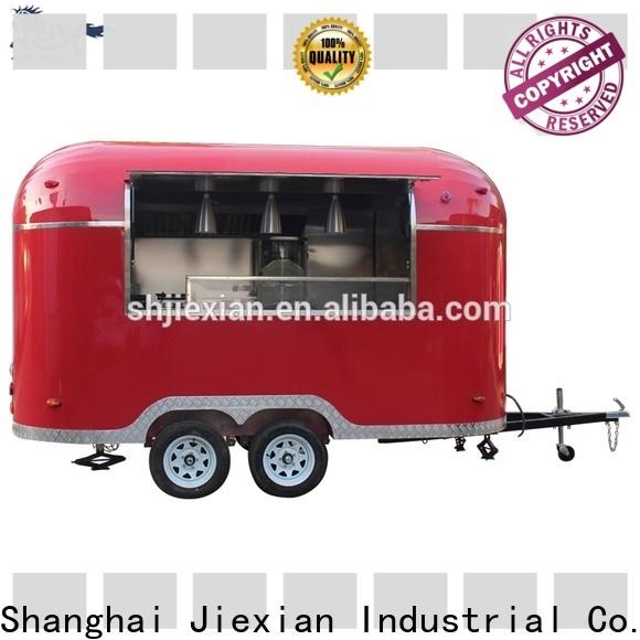 Jiexian quality food trailers bulk buy for food business