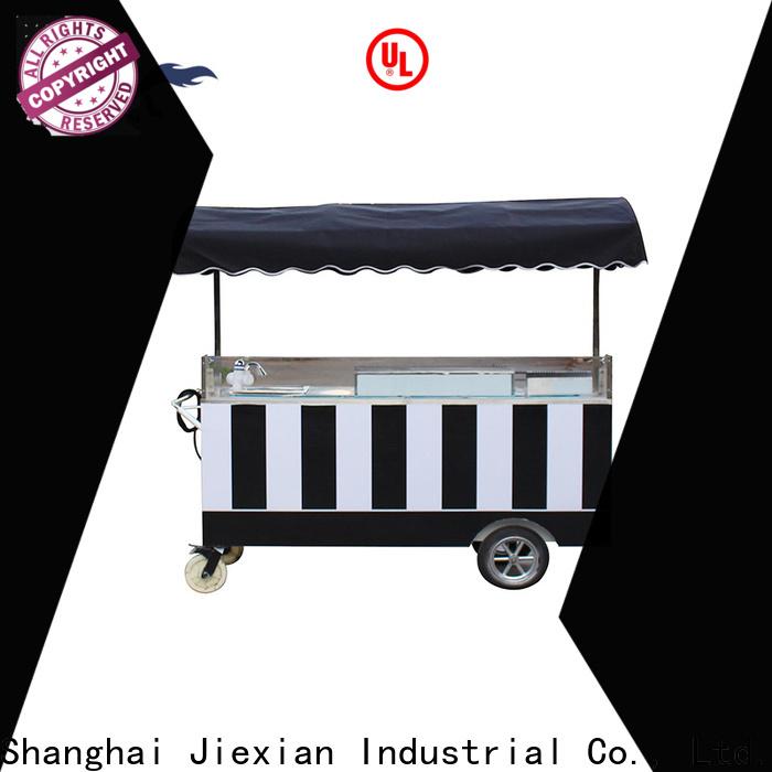 ice cream bike cart