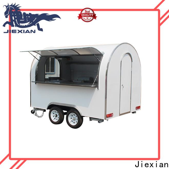 steel cap food trailers