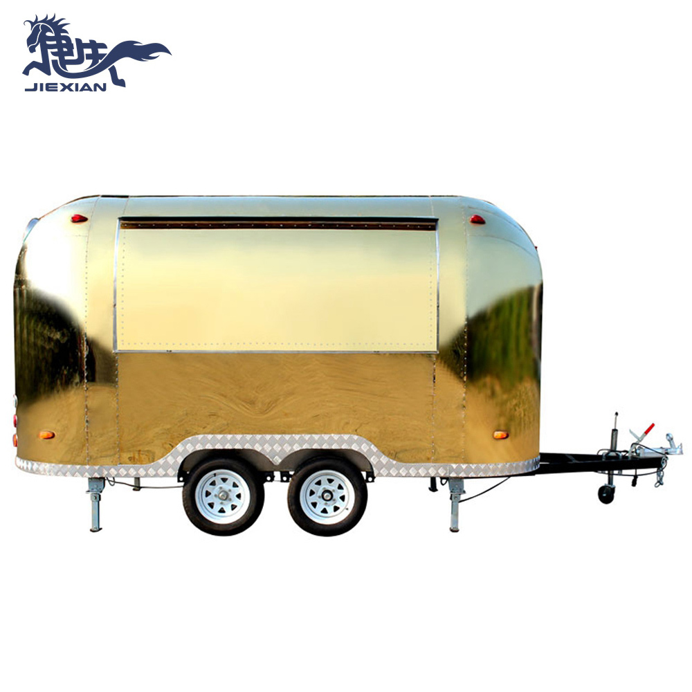 JX-BT400B Hot sale classic mobile food truck/fast food vending truck stainless steel food truck equipment