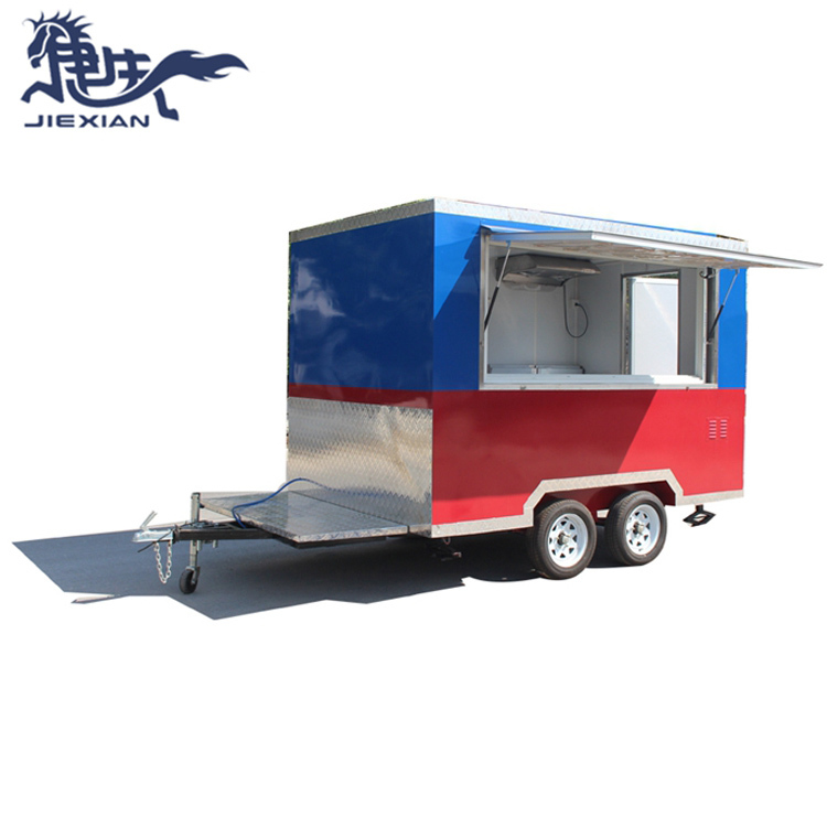 JX-FS300 Food Truck Mobile Juice Car Crepes Car Concession Food Trailer mobile kitchen truck for Sale