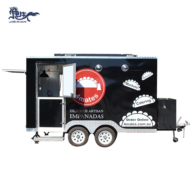 JX-FS350 New brand outdoor mobile coffee cart /food truck/food concession trailer for promotion