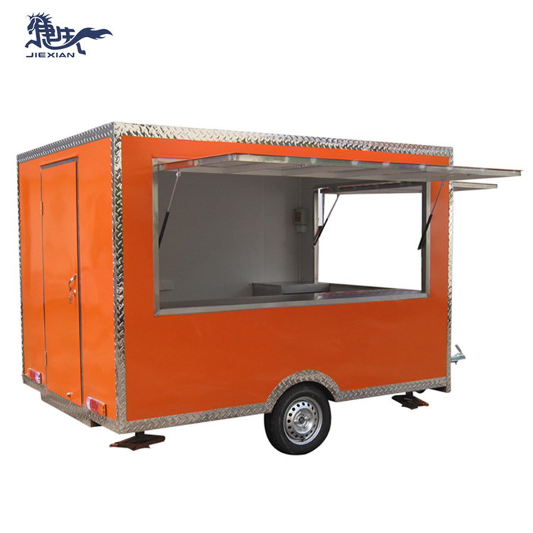 JX-FS300 2020 Shanghai Jiexian mini mobile food carts for coffee donuts for sale