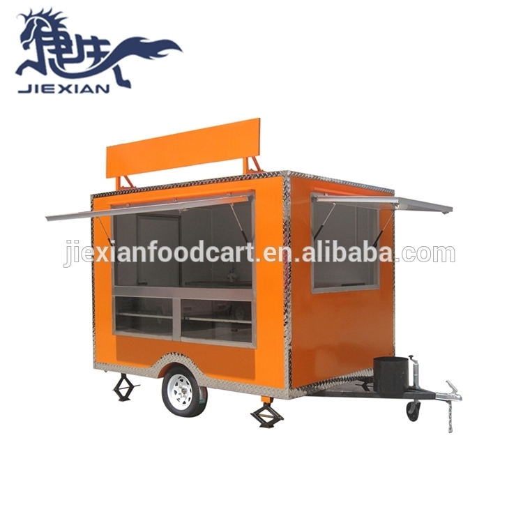 JX-FS280 Shanghai Jiexian square concession trailer mobile juice car houston food trucks