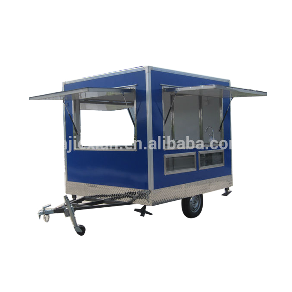 JX-FS250 Factory Price Outdoor Mobile Food Kiosk Trailer